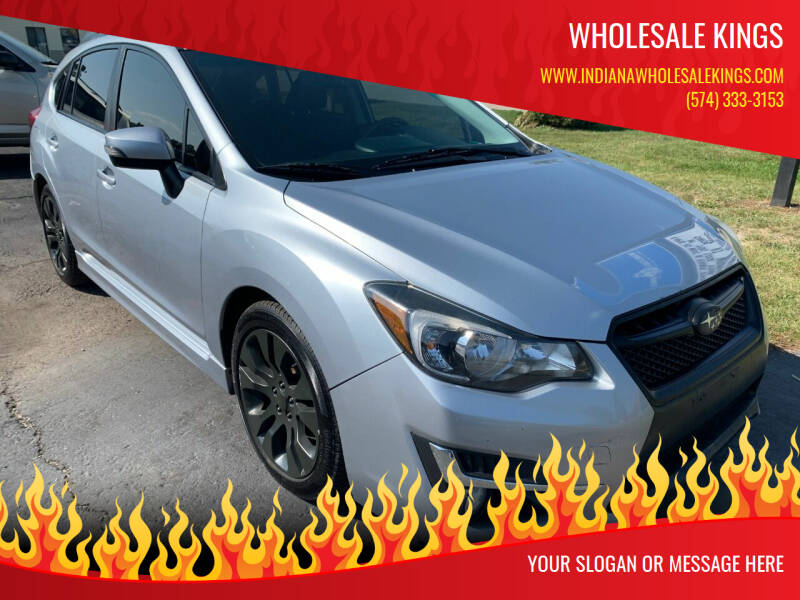 2015 Subaru Impreza for sale at Wholesale Kings in Elkhart IN