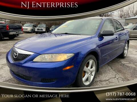 2005 Mazda MAZDA6 for sale at NJ Enterprises in Indianapolis IN