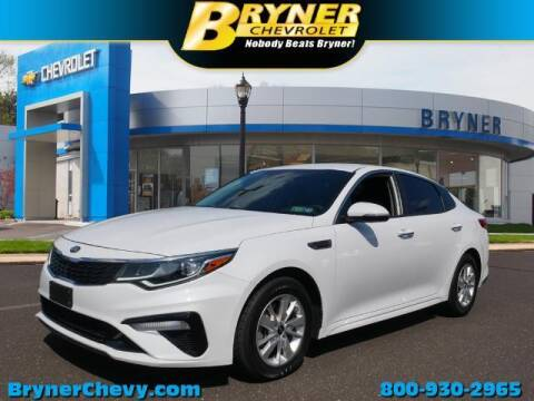 2019 Kia Optima for sale at BRYNER CHEVROLET in Jenkintown PA