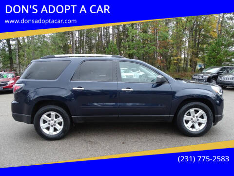 2016 GMC Acadia for sale at DON'S ADOPT A CAR in Cadillac MI