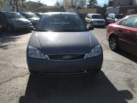 2007 Ford Focus for sale at Chambers Auto Sales LLC in Trenton NJ