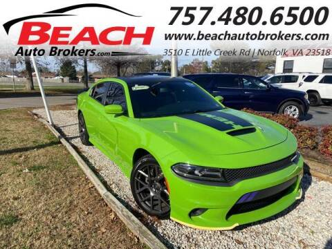 2017 Dodge Charger for sale at Beach Auto Brokers in Norfolk VA