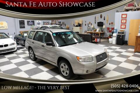 2007 Subaru Forester for sale at Santa Fe Auto Showcase in Santa Fe NM