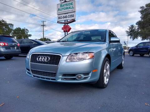 2006 Audi A4 for sale at BAYSIDE AUTOMALL in Lakeland FL