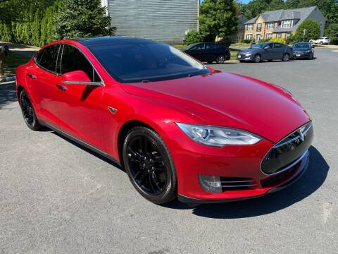 2014 Tesla Model S for sale at Elite Motors in Washington DC