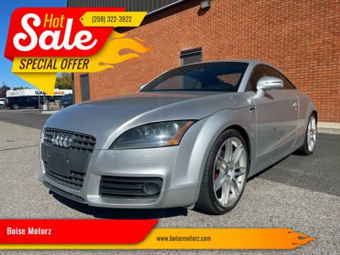 2008 Audi TT for sale at Boise Motorz in Boise ID