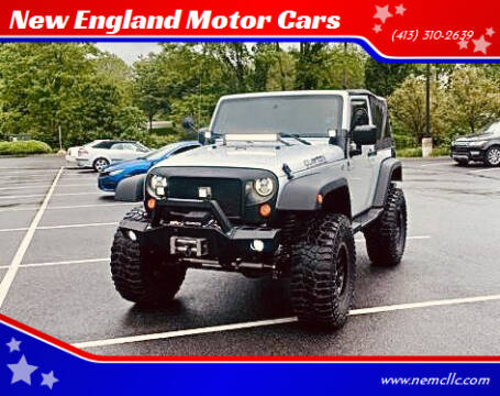 2007 Jeep Wrangler for sale at New England Motor Cars in Springfield MA