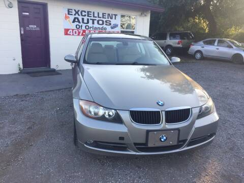 2008 BMW 3 Series for sale at Excellent Autos of Orlando in Orlando FL