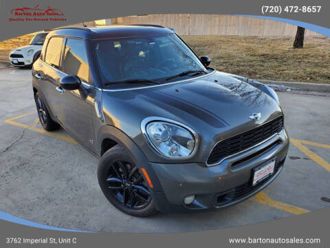 2014 MINI Countryman for sale at Barton Auto Sales in Frederick CO