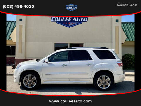 2011 GMC Acadia for sale at Coulee Auto in La Crosse WI