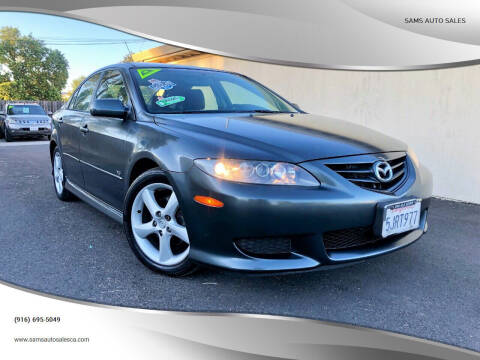 2004 Mazda MAZDA6 for sale at Sams Auto Sales in North Highlands CA