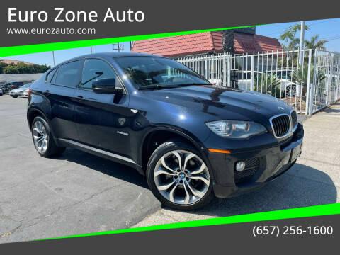 2014 BMW X6 for sale at Euro Zone Auto in Stanton CA