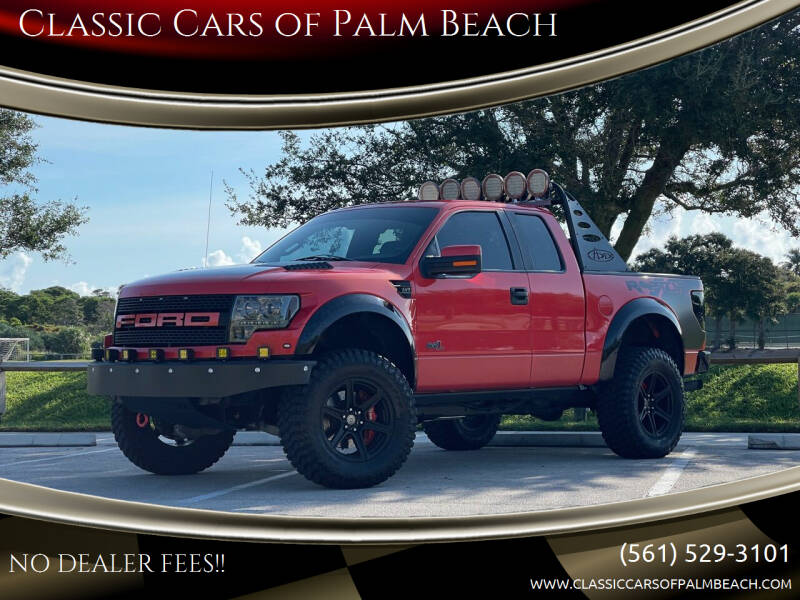 2011 Ford F-150 for sale at Classic Cars of Palm Beach in Jupiter FL