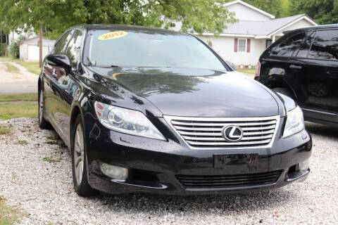 2012 Lexus LS 460 for sale at JE AUTO SALES LLC in Webb City MO