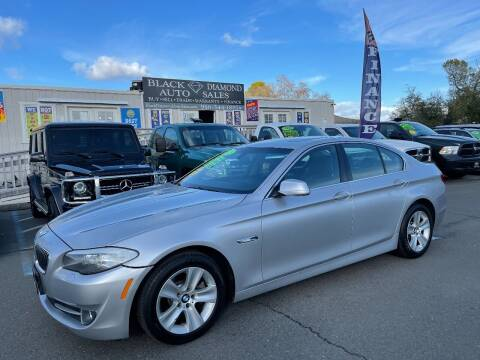 2013 BMW 5 Series for sale at Black Diamond Auto Sales Inc. in Rancho Cordova CA