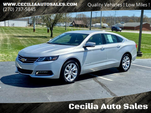 2020 Chevrolet Impala for sale at Cecilia Auto Sales in Elizabethtown KY