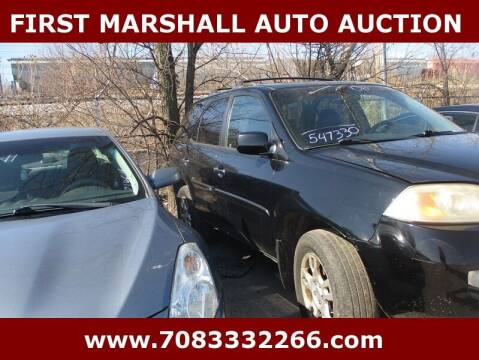 2006 Acura MDX for sale at First Marshall Auto Auction in Harvey IL