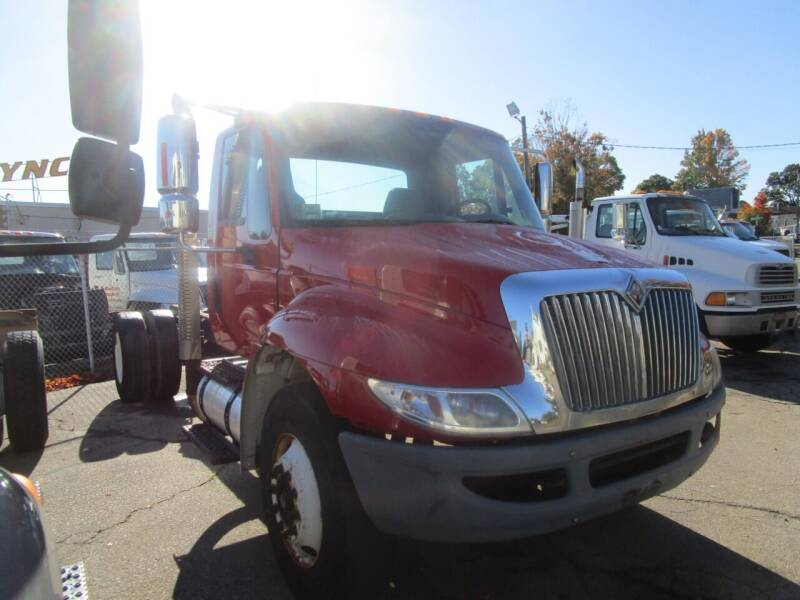 2004 International 4400 for sale at Lynch's Auto - Cycle - Truck Center in Brockton MA