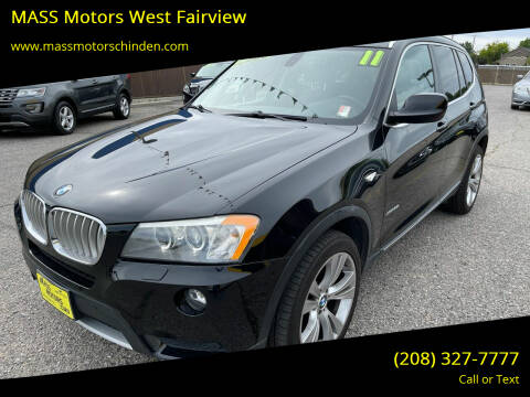 2011 BMW X3 for sale at M.A.S.S. Motors - West Fairview in Boise ID