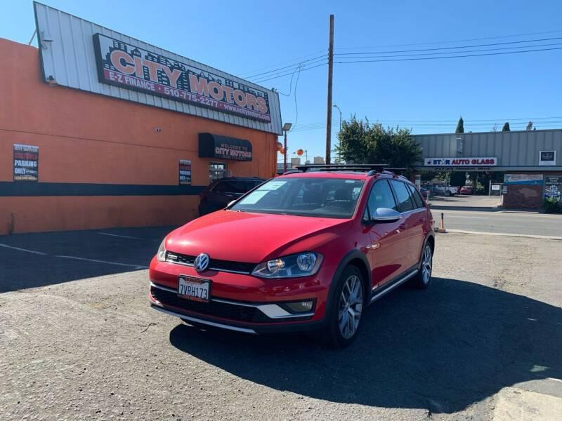 2017 Volkswagen Golf Alltrack for sale at City Motors in Hayward CA