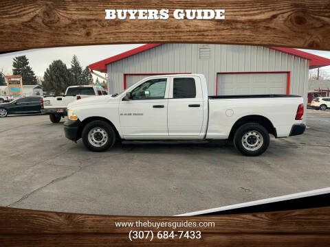 2012 RAM Ram Pickup 1500 for sale at Buyers Guide in Buffalo WY