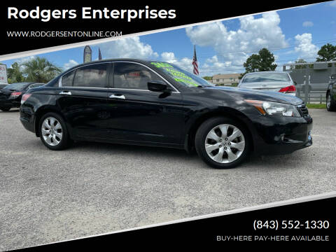 2010 Honda Accord for sale at Rodgers Enterprises in North Charleston SC