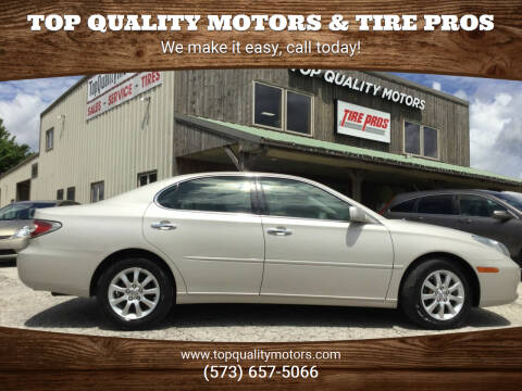 2003 Lexus ES 300 for sale at Top Quality Motors & Tire Pros in Ashland MO