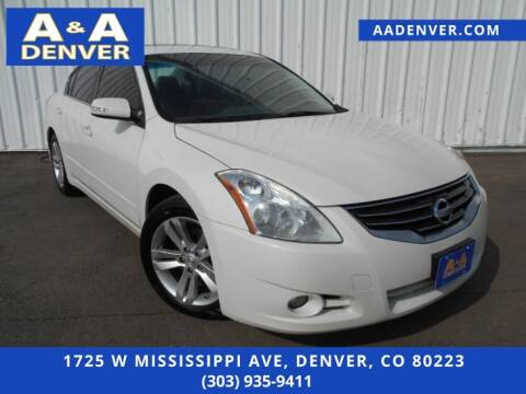 2012 Nissan Altima for sale at A & A AUTO LLC in Denver CO