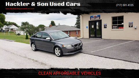 2010 Volvo S40 for sale at Hackler & Son Used Cars in Red Lion PA