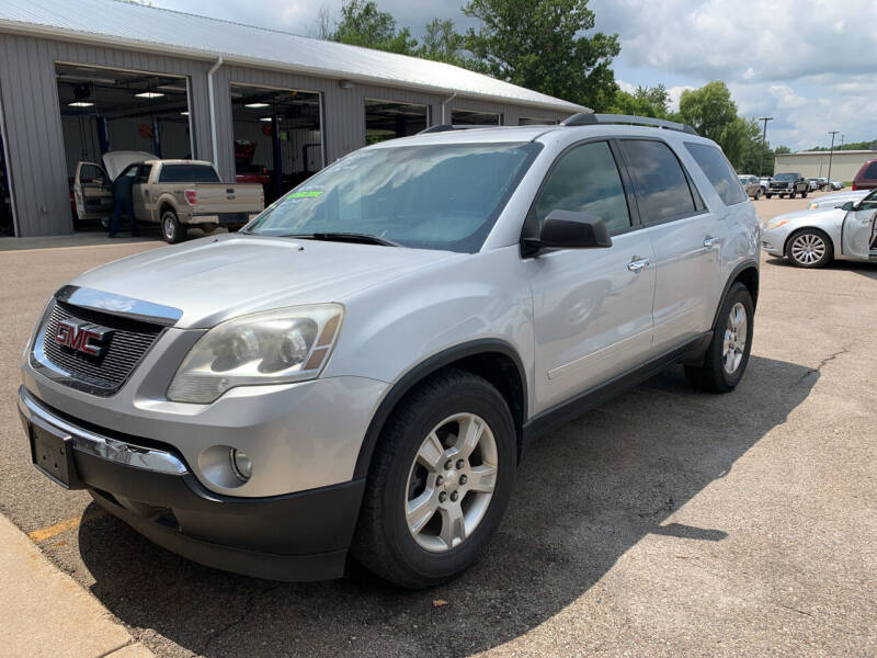2012 GMC Acadia for sale at Blake Hollenbeck Auto Sales in Greenville MI