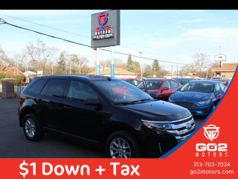 2013 Ford Edge for sale at Go2Motors in Redford MI