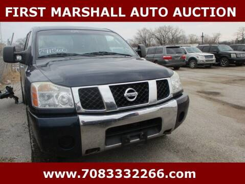 2007 Nissan Titan for sale at First Marshall Auto Auction in Harvey IL