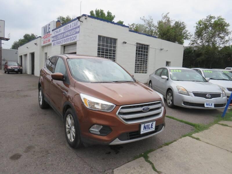 2017 Ford Escape for sale at Nile Auto Sales in Denver CO