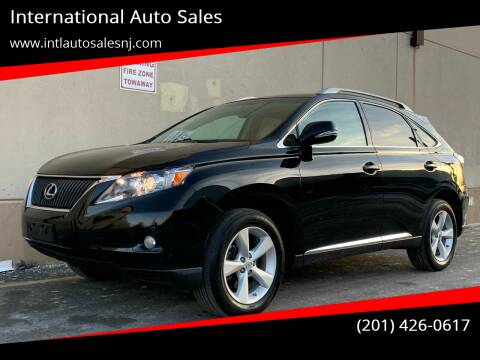 2012 Lexus RX 350 for sale at International Auto Sales in Hasbrouck Heights NJ