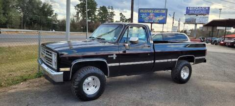 1985 Chevrolet C/K 10 Series for sale at COLLECTABLE-CARS LLC in Nacogdoches TX