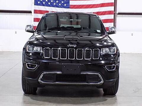 2017 Jeep Grand Cherokee for sale at Texas Motor Sport in Houston TX