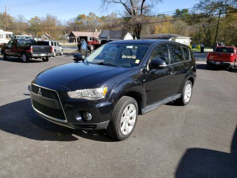 2012 Mitsubishi Outlander for sale at Curtis Lewis Motor Co in Rockmart GA