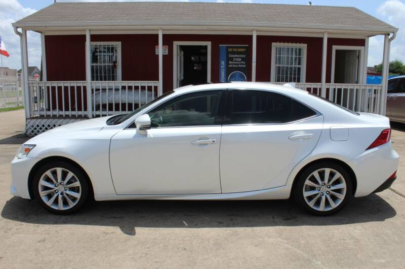 2016 Lexus IS 200t for sale at AMT AUTO SALES LLC in Houston TX