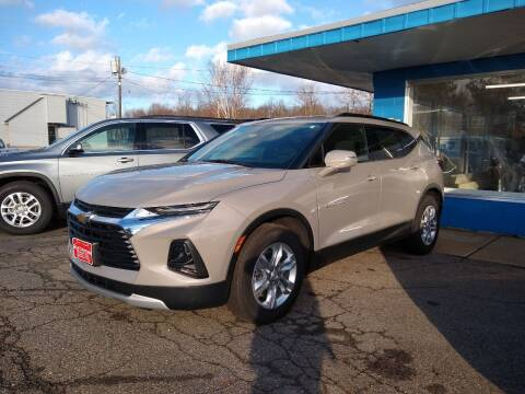 2021 Chevrolet Blazer for sale at KATAHDIN MOTORS INC /  Chevrolet Sales & Service in Millinocket ME