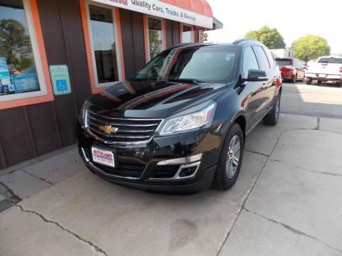 2015 Chevrolet Traverse for sale at Autoland in Cedar Rapids IA