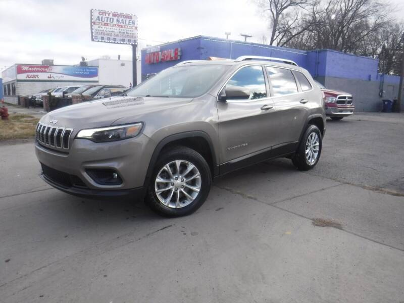 2019 Jeep Cherokee for sale at City Motors Auto Sale LLC in Redford MI