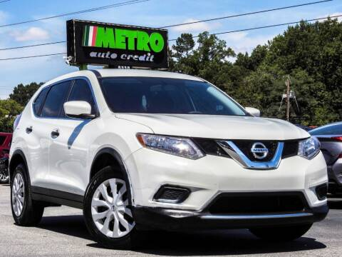2016 Nissan Rogue for sale at Metro Auto Credit in Smyrna GA