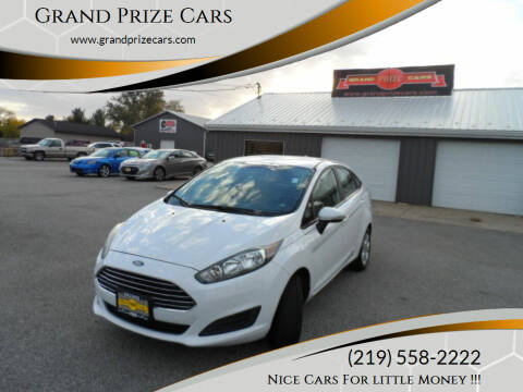 2015 Ford Fiesta for sale at Grand Prize Cars in Cedar Lake IN