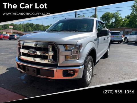 2015 Ford F-150 for sale at The Car Lot in Radcliff KY