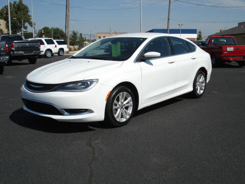 2015 Chrysler 200 for sale at Shelton Motor Company in Hutchinson KS
