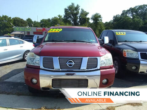 2007 Nissan Titan for sale at Marino's Auto Sales in Laurel DE