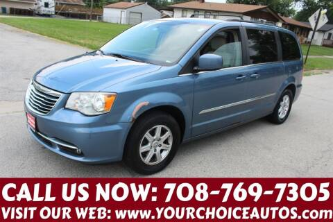 2012 Chrysler Town and Country for sale at Your Choice Autos in Posen IL