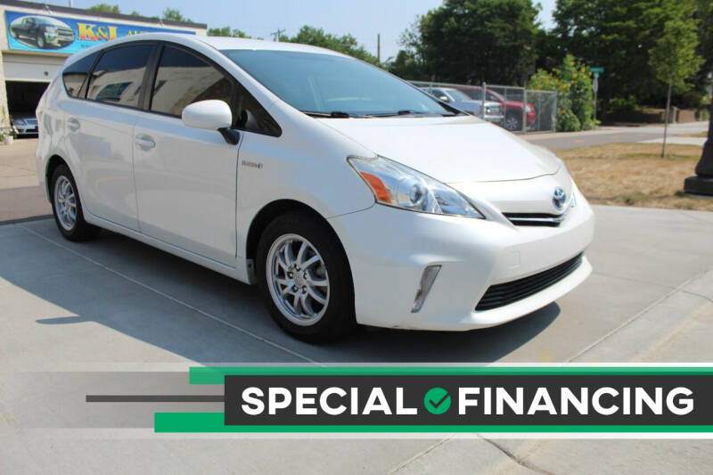 2014 Toyota Prius v for sale at K & L Auto Sales in Saint Paul MN