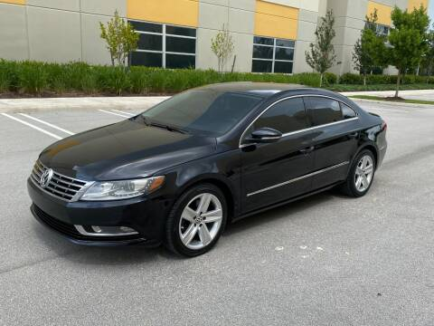 2013 Volkswagen CC for sale at EUROPEAN AUTO ALLIANCE LLC in Coral Springs FL