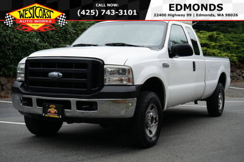 2007 Ford F-250 Super Duty for sale at West Coast Auto Works in Edmonds WA